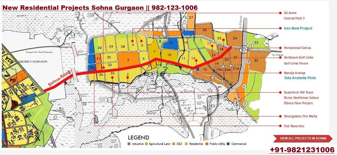 new residential projects in sohna gurgaon, eldeco accolade, eldeco accolade sohna, central park 3, central park 3 flower valley, central park 3 flower valley villas,